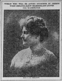 First Woman Governor of Oregon