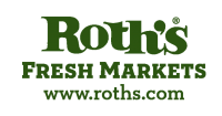 Roth's fresh market logo, sponsor of the 2017 Heritage Awards at the Willamette Heritage Center
