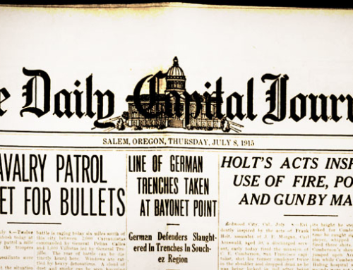 Word War 1 News for August 1, 1915