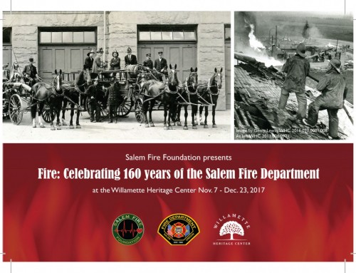 Fire: Celebrating 160 Years of the Salem Fire Department