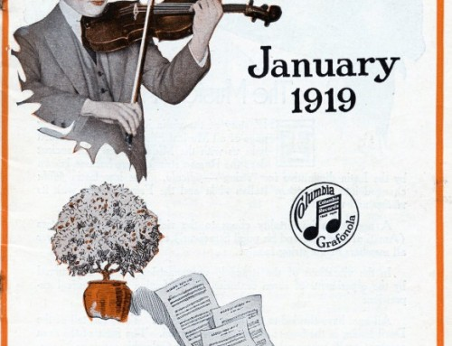 Finding New Music 100 Years Ago