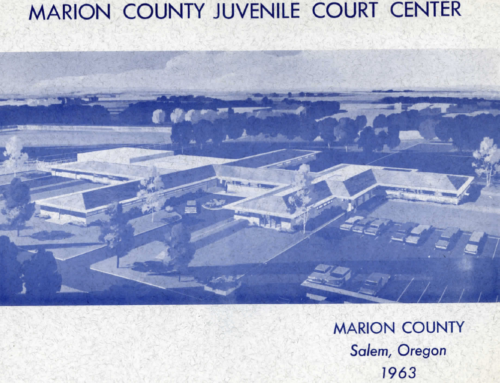 Marion County Juvenile Court Center, 1963