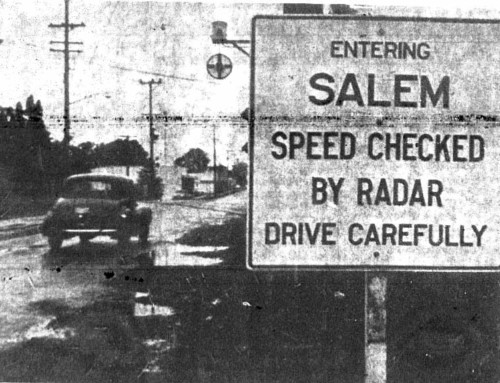 Policing with Radar Pioneered in Northwest by Salem Police Department