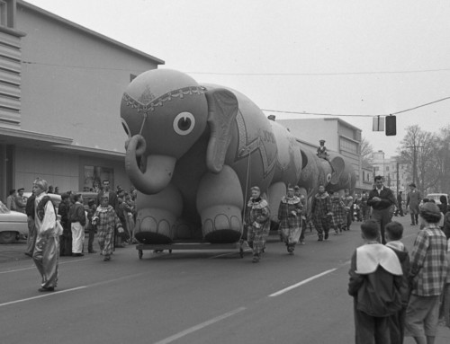 1956 Balloon Parade