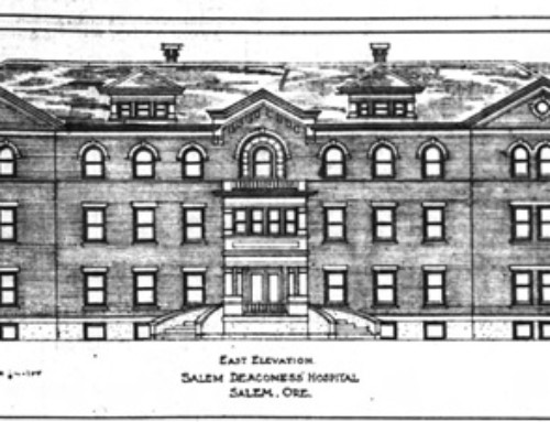 Fred Legg, Lausanne Hall and the Deaconness Hospital