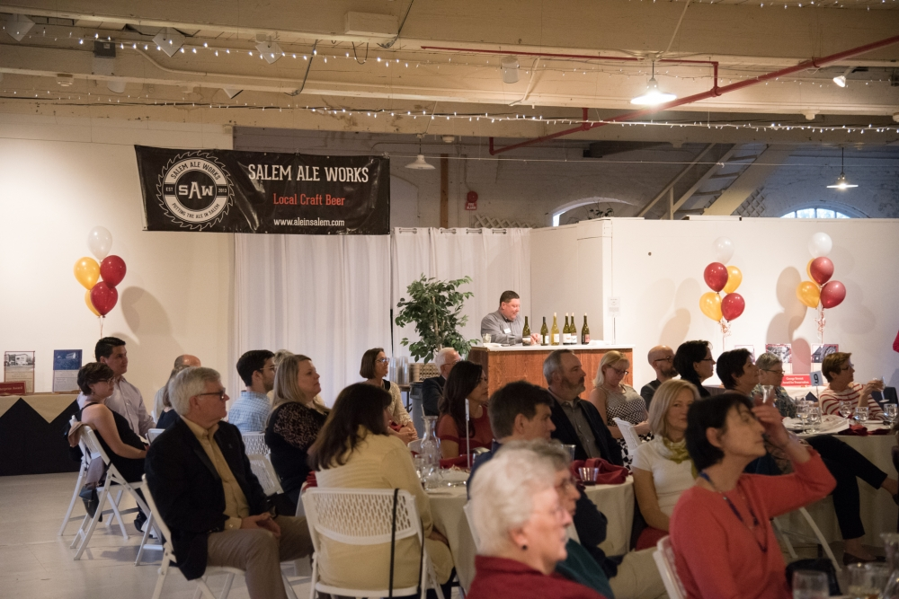 Salem Ale Works provided craft beer at the 24th Annual Heritage Awards