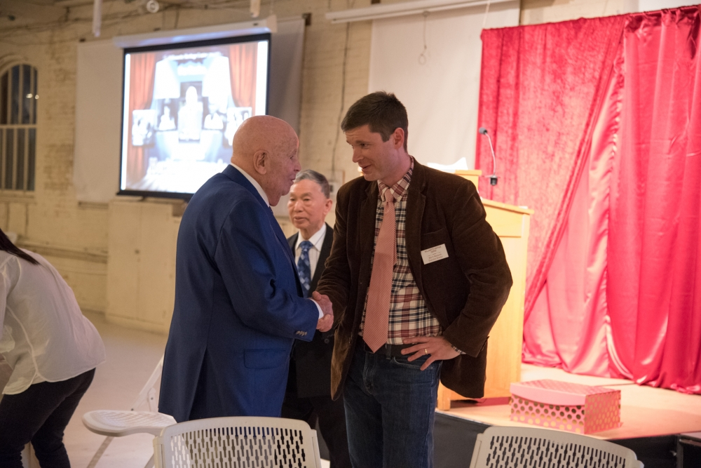 Gerry Frank and Bob Reinhardt at the 24th Annual Heritage Awards