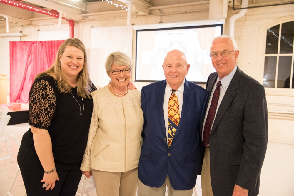 Gerry Frank and guests at the 24th Annual Heritage Awards